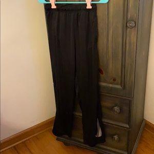 NWT black Nike boys sweatpants size large
